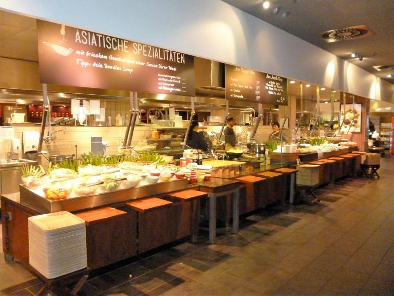 karstadt restaurant le buffet in hamburg mobile. Black Bedroom Furniture Sets. Home Design Ideas